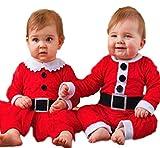 [笑顔一番] ベビーサンタ コスチューム 赤ちゃん 幼児 ロンパース クリスマス サンタ クロース コスプレ [A306-03] (13) 男の子 100cm