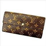 ルイヴィトン Louis Vuitton 長財布 ファスナー 二つ折り メンズ可 ポルトフォイユ・サラ モノグラム M61734 モノグラム 中古 人気 美品 J5304