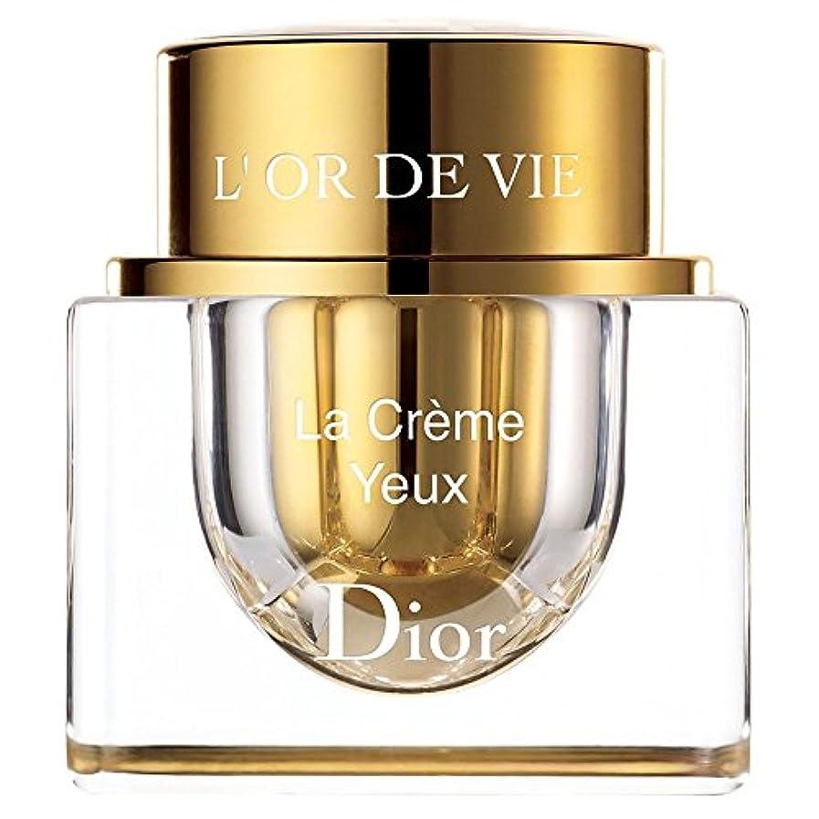 運賃まもなく注釈を付ける[Dior] ディオールラクリーム輪郭YeuxらL?vres15ミリリットル - Dior La Cr?me Contour Yeux Et L?vres 15ml [並行輸入品]
