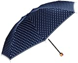 (マッキントッシュフィロソフィー)MOONBAT(ムーンバット) マッキントッシュフィロソフィー 折りたたみ傘 ツイルプリントドット