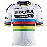 自転車ウェア 2017 Bora Hansgrohe 半袖ジャージ XSサイズ レプリカ アルカンシェル仕様