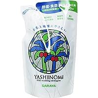 【まとめ買い】サラヤ ヤシノミ洗剤 野菜・食器用 つめかえ用 480mL ×3個