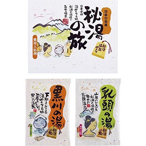 薬用入浴剤秘湯の旅2P 【温泉 いい香り 血行 個包装 しっ...