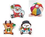【クリスマス景品】クリスマスエコカイロ(12個)  / お楽しみグッズ(紙風船)付きセット