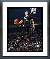"Zach Lavine Minnesota Timberwolves Nba Slam Dunk Contestフォト(サイズ: 18 "" x 22 "" )フレーム入り"