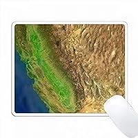 Sierra Nevadaの航空写真の印刷 PC Mouse Pad パソコン マウスパッド