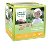 Seventh Generation Free and Clear Stage 5 Baby Diaper - 46 per pack - 1 each.