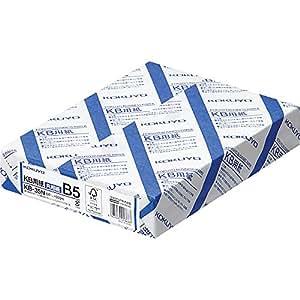 コクヨ コピー用紙 B5 紙厚0.09mm 500枚 FSC認証 KB-35N