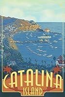 カタリナ島、カリフォルニア 16 x 24 Signed Art Print LANT-26475-709