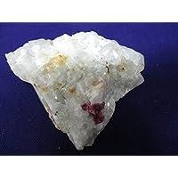 ★原石ハンターになろう! 母岩付きルビーの原石、(ミャンマー モゴク産)