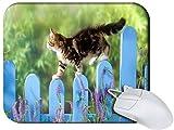 Amazon.co.jpSnoogg Cat Walking Non Slip Rubber Mouse Pad