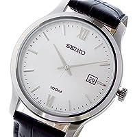 セイコー クラシック クオーツ メンズ 腕時計 SUR225P1 ホワイトシルバー [並行輸入品]
