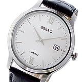 セイコー SEIKO クラシック クオーツ メンズ 腕時計 SUR225P1 ホワイトシルバー 腕時計 海外インポート品 セイコー[逆輸入] mirai1-531549-ak [並行輸入品] [簡易パッケージ品]