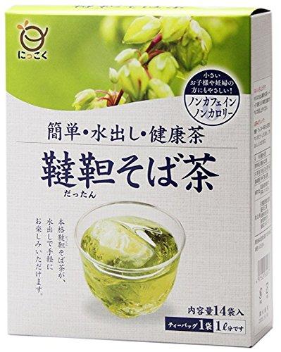 日穀製粉 水出し韃靼そば茶 14包入×2