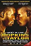 Bernard Hopkins vs. Jermainテイラーポスター映画( 11?x 17インチ???28?cm x 44?cm ( 2005?)