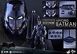 ホットトイズ ムービー・マスターピース バットマン vs スーパーマン ジャスティスの誕生 アーマード・バットマン(ブラック・クロム版) 1/6スケールフィギュア