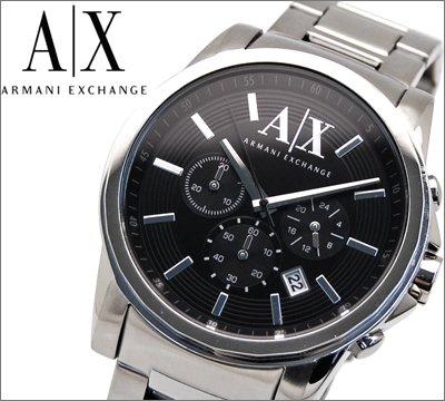 アルマーニエクスチェンジ メンズ 腕時計 クロノグラフ/ブラック【AX2084】【時計】【ウォッチ】[平行輸入品]