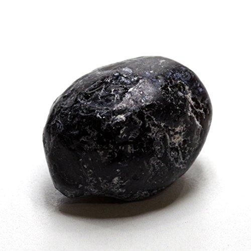 【N2 stone Natural】 天然結晶・鉱物・岩石シリーズ / 天然石・原石・鉱物標本 / パワーストーン / ナチュラルストーン (アパッチの涙(アパッチティアーズ/黒曜石) x 1個[約25-30mm])