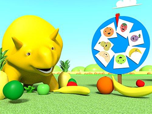 フォーチューンの輪:恐竜のダイノと一緒に果物を学ぼう & バブルガムマシーン:恐竜のダイノと一緒に果物を学ぼう