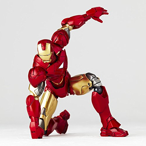 Details about SCI-FI Revoltech Iron Man 2 Iron Man Mark 6 non-scale ABS &  PVC painted action f