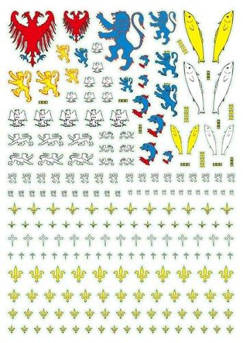 アンドレアミニチュアズ AT-011 German Heraldry Transfers