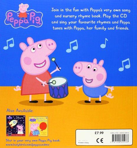 Ladybird『PeppaPig:NurseryRhymesandSongs:PictureBookandCD』