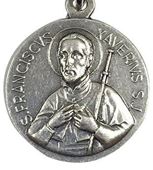 イタリア製メダイ 聖フランシスコ・ザビエルA(St.Francisco Xavier)