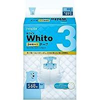 【Amazon.co.jp限定】 ネピア Whito テープ Sサイズ(4~8Kg) 3時間タイプ 68枚