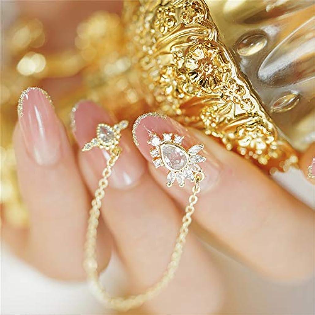 SIFASHION ユニコーン 宝石 ペンダント プノンペン 桜ピンク 美しい手作りネイルアート 無地ネイルチップ 24PCS (ジルコンのペンダント)