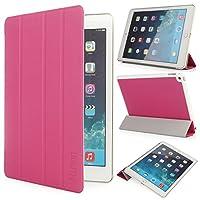 iHarbort® iPad air 2 (iPad 6) 軽量スタンド機能付ケース(自動ウェイク/スリープ機能) (iPad air 2(2014 Version), ピンク)