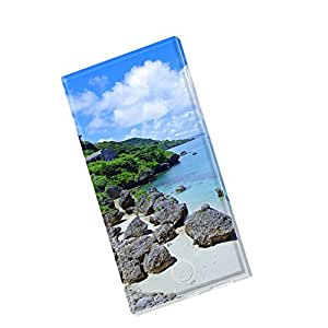 モバイルバッテリー iPhone6s iPhone6 Plus スマホ 充電器 モバブ スマートフォン 大容量 モバイル ブースター 携帯充電器 充電 8000mAh Panasonic製セル電池使用 Xperia Galaxy AQUOS iPad iQOS 写真・風景 海 自然 000057