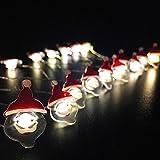 イルミネーションライト LEDライト ストリングスライト 10種類 お洒落 飾り 屋内照明 (サンタクロース)