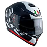 AGV(エージーブイ) バイクヘルメット フルフェイス K-5 S DARKSTORM MATT BLACK/RED (ダークストーム マットブラック/レッド) L (59-60cm) 004192HF-014-L