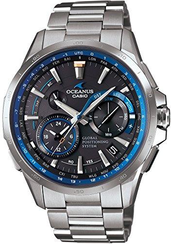 [カシオ]CASIO 腕時計 オシアナス GPSハイブリッド電波ソーラー OCW-G1000-1AJF メンズ