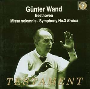 Missa Solemnis / Symphony 3