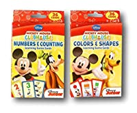 [Disney]Disney Mickey Mouse Clubhouse Flash Cards Set Featuring number recognition, counting skills, basic shapes, & [並行輸入品]