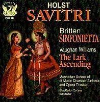 Savitri Sinfonietta the Lark Ascending