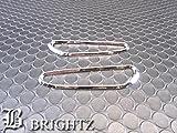 BRIGHTZ 1シリーズ E82 メッキサイドマーカーリング 【 TMMM-4-BR 】 BMW 120i 135i クーペ UC20 UC30 UC35 12866