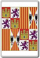 Catholic Monarchs (1475-1492), Historic Flags of Spain fridge magnet - ?????????