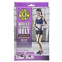 Golds Gym waist trimmer belt - Adjustable size fits up to 50 inch waist trims.