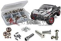 RCScrewZ Traxxas Slash 4x4 Ultimate LCG Stainless Steel Screw Kit #tra051 by RC Screwz