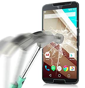 Finon(フィノン)【気泡軽減/ラウンドエッジ加工】硬度9H 高鮮明 0.3mm ガラスフィルム【Google Nexus 6 】専用 GN6G