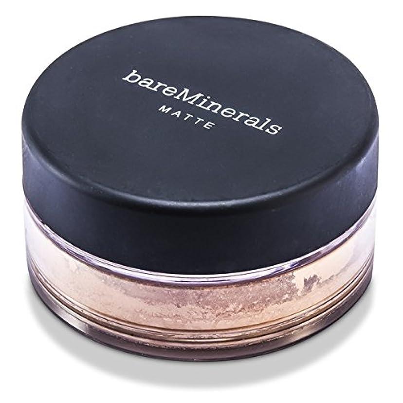 クレデンシャル鎖組立BareMinerals ベアミネラル マット ファンデーション SPF15 - Medium Beige 6g/0.21oz並行輸入品