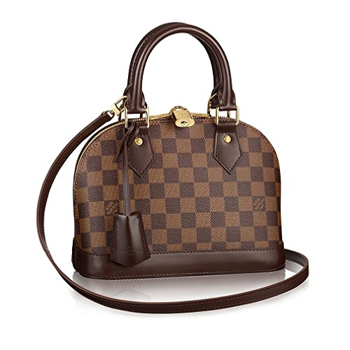 Authentic Louis Vuitton DamierアルマBBクロスボディハンドバッグArticle : n41221Made in France