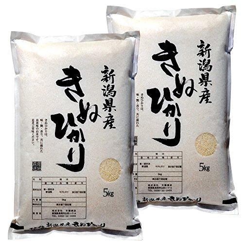 新潟県産 キヌヒカリ 白米 10kg (5kg×2 袋) 令和元年産