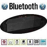 AGM Bluetooth スピーカー HIFI 3D 2.2CH ステレオ YOUTUBE視聴可 低音専用ウーハー装備 クリアーサウンド ( FMラジオ ) ( ハンズフリー テレホン ) (LINE IN ) (USBメモリー ) ( MICRO SD ) 安心の基本機能一年メーカー保証 日本語説明書付 ML23U (ブラック)