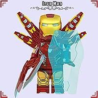 PPOO ブロックアイアンマン · マーク 42-85 セットアイアンマン Thanos さんハルクトールスパイダーマン、ブロックおもちゃキャプテンアメリカマーベルアベンジャーズ Endgame でブロック