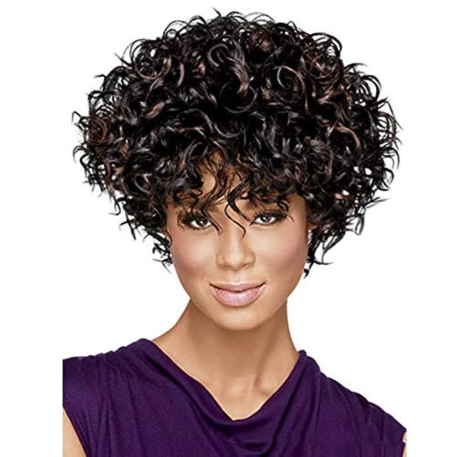 プロテスタント回復期限YOUQIU 女性の自然な人工毛かつら用ショートボブウィッグ6