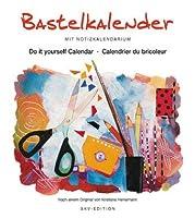 Bastelkalender 24x21.5: Mit Notizkalendarium