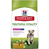 Hill's Science Diet Senior Dog Food, Adult 7+ Small & Toy Breed Youthful Vitality Chicken & Rice Recipe Dry Dog Food, 1.6kg Bag